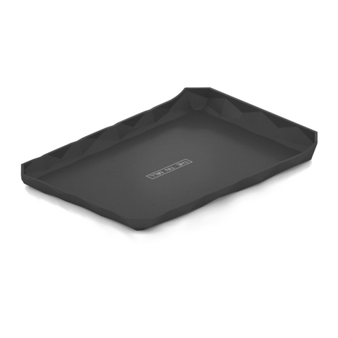 Valet Tray for Everyday Carry Durable Black Aluminum