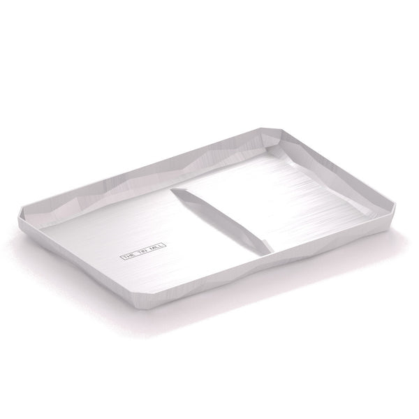 Valet Tray, Brushed Aluminum