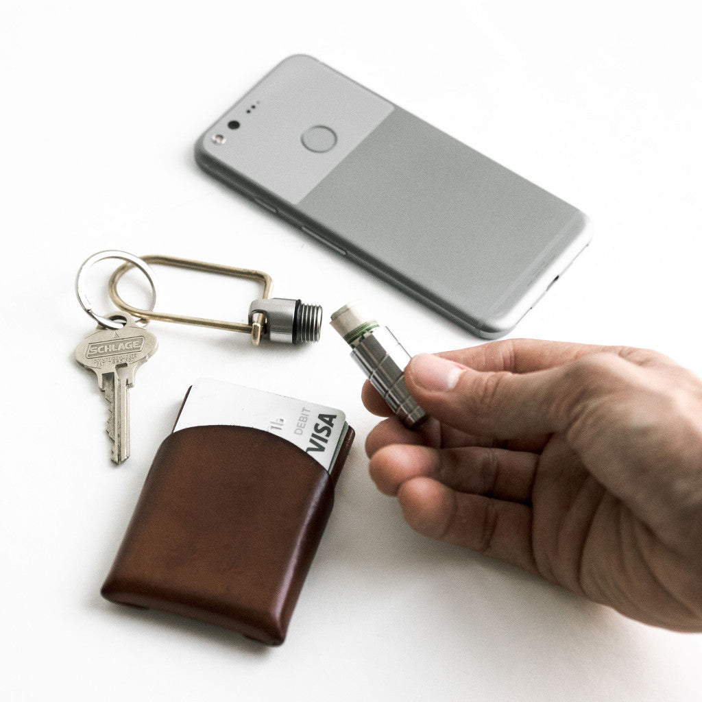 Key Safe, Tumbled Stainless