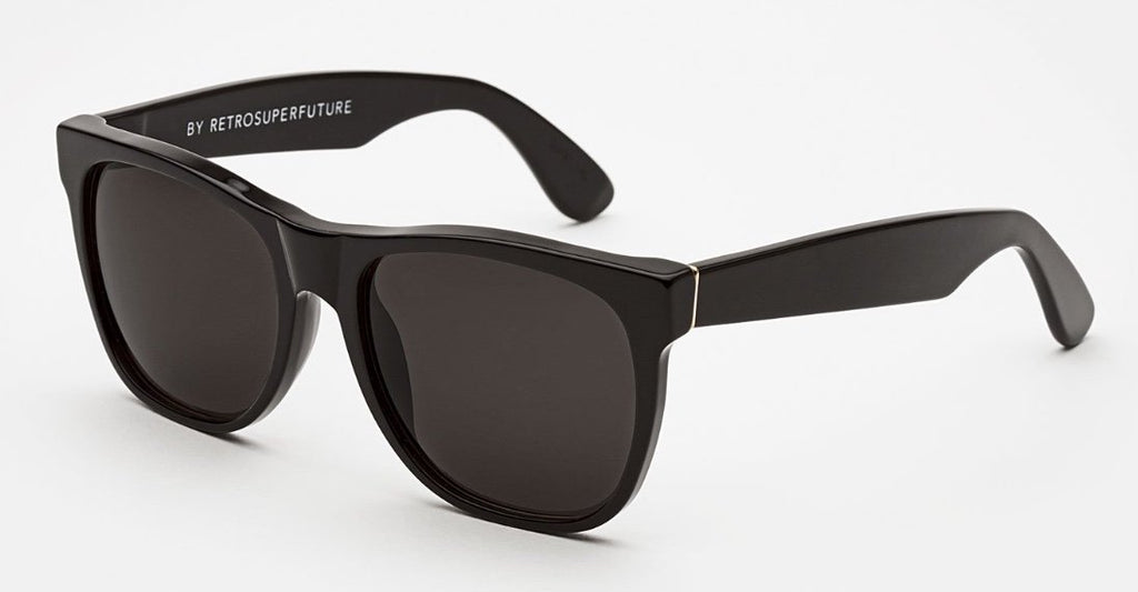 RetroSuperFuture Sunglasses Classic Black