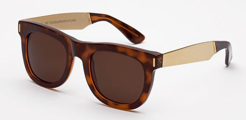 RetroSuperFuture Sunglasses Ciccio Francis Havana