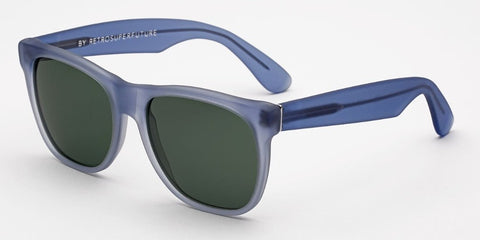 RetroSuperFuture Sunglasses Classic Velvet Baby Blue