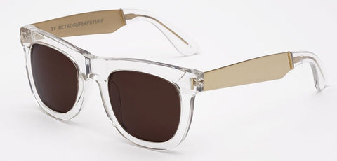 RetroSuperFuture Sunglasses Ciccio Francis Crystal