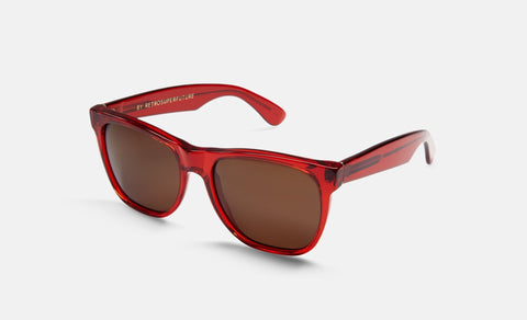 RetroSuperFuture Sunglasses Classic Ruby Red