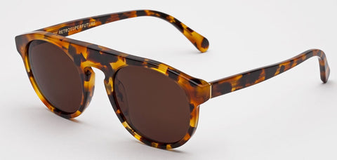 RetroSuperFuture Sunglasses Racer Dark Havana