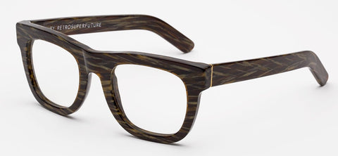 RetroSuperFuture Sunglasses Ciccio Jacquard Clear Lens