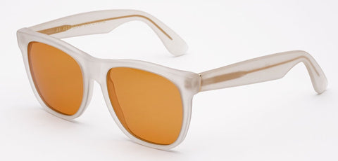 RetroSuperFuture Sunglasses Classic Matte Dusk Orange Lenses LARGE SIZE