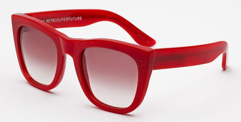 RetroSuperFuture Sunglasses Gals Pearly Red