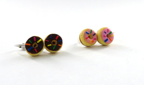 Donut Earring Clip Ons