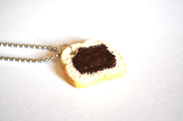 Nutella Sandwich Necklace