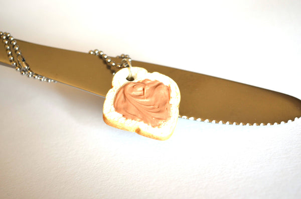 Peanut Butter Sandwich Necklace
