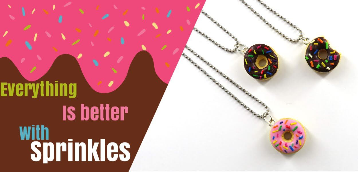 Doughnut Necklace - Good Enough To Eat