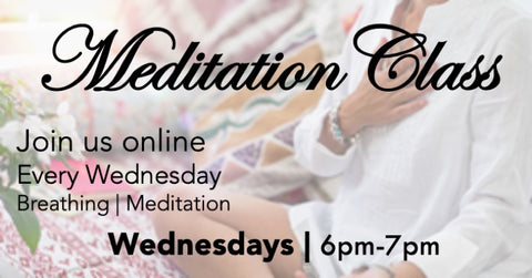 Meditation Classes Online | FREE/By Donation