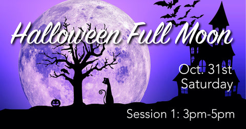Halloween Full Moon Gong Bath   Session 1 - 3pm-5pm