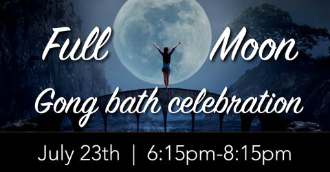 December Full Moon Gong Bath Celebration