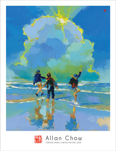 Forever Young - Boys Being Boys - Limited Edition Giclee