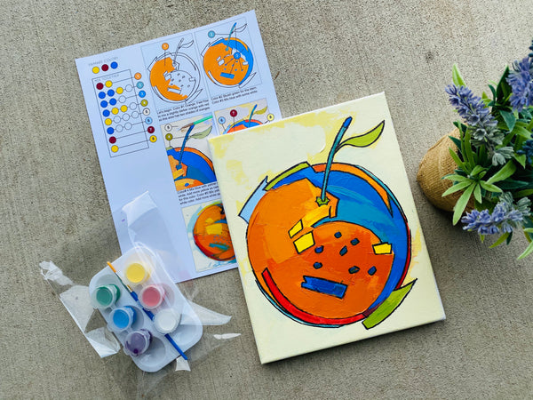 Double Art Boxes - Landscape & Clementine - Home Art Projects for Kids