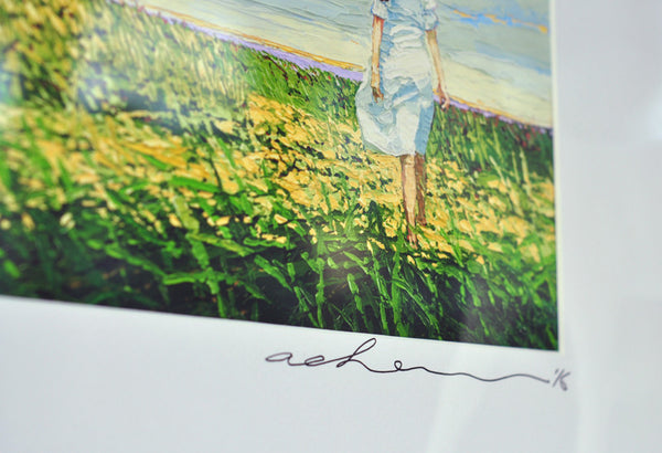 Giclee on paper - Faith - 5in x 7in - in white mat