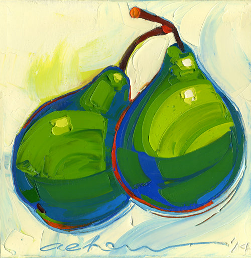 Happy Pears painting