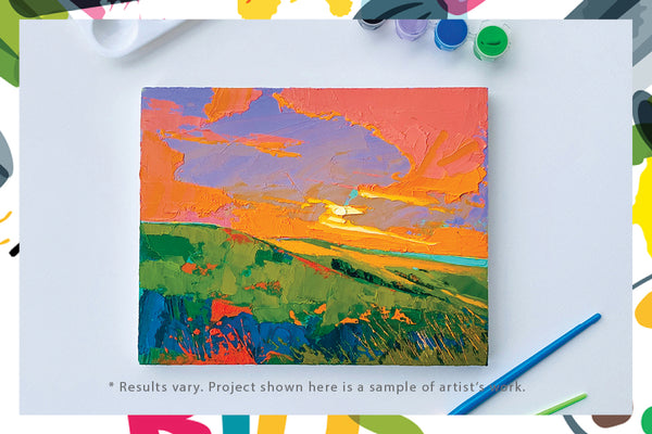 Single Art Box - Landscape - Home Art Projects for Kids