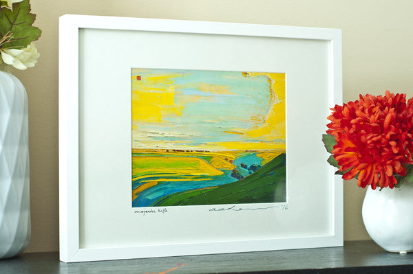 Majestic Hills - Framed Paper Giclee
