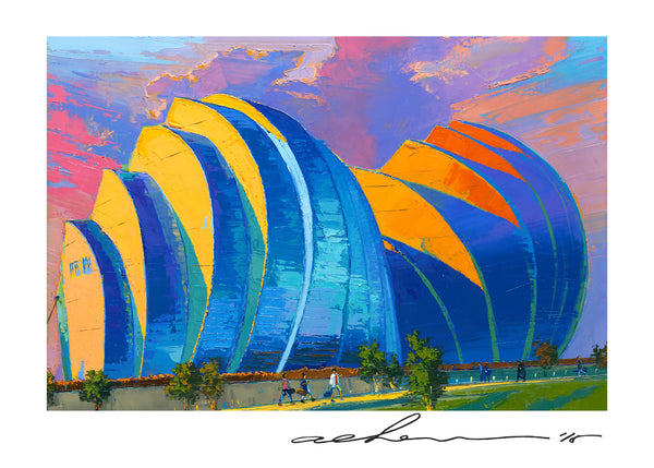 Holiday Card - Kauffman Center - 5in x 7in - White envelope included