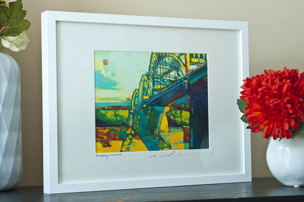 Sunrise at Broadway - Framed Paper Giclee