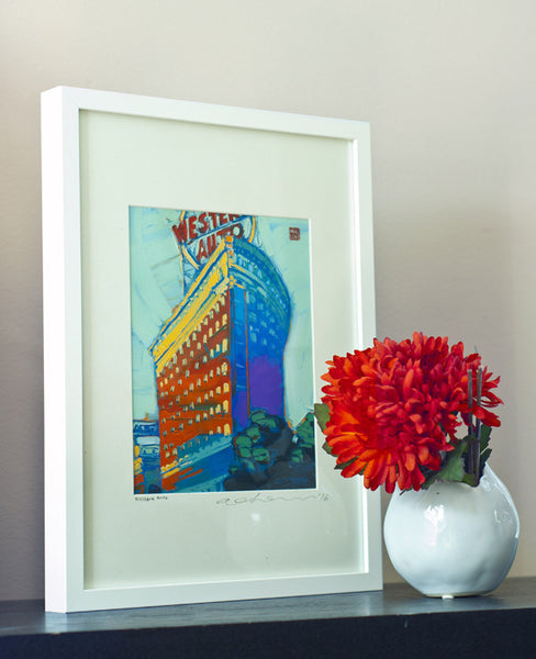 Western Auto - Framed Paper Giclee