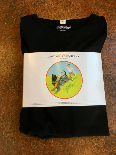 LADY WHITE Co.  T-SHIRT  2-PACK - BLACK