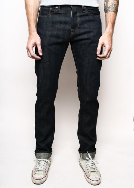 RGT -  SK  14.5 OZ. RAW SLVDG.  DENIM. Slim Taper.