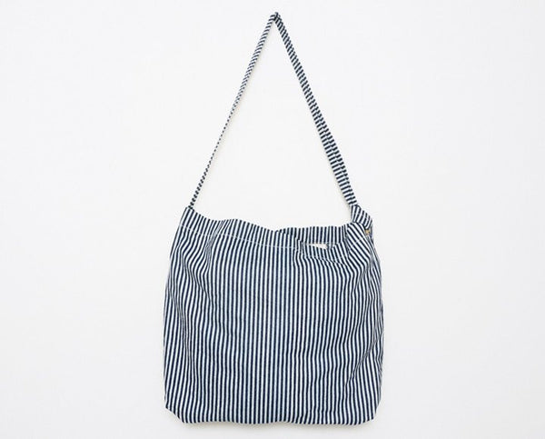 Stanley & Sons - Market Shoulder Bag Hickory Stripe