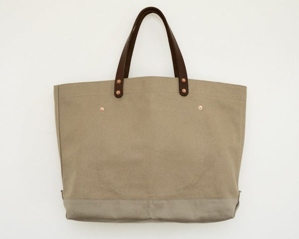Stanley & Sons - Canvas Tote Sand