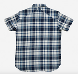 3Sixteen - Short Sleeve Workshirt Indigo/White