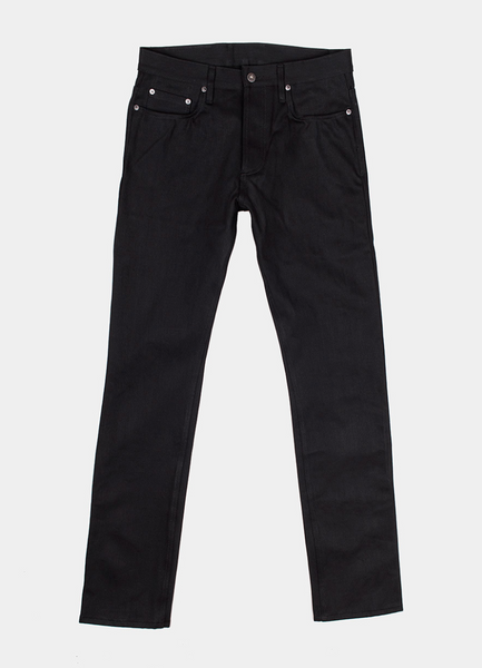 3Sixteen - SL-220X- DOUBLE BLACK-  Slim Straight Leg