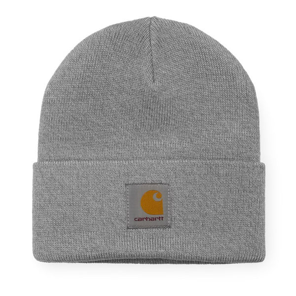 Carhartt WIP - Short Watch Hat - Grey Heather