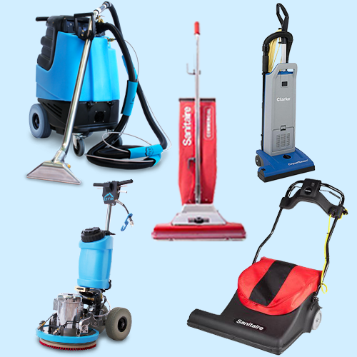 CLEANING EQUIPMENT & ACCESSORIES
