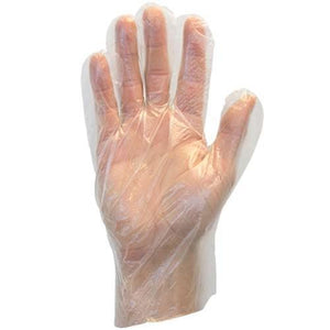 Deli Medium Polyethylene Gloves 500/BX