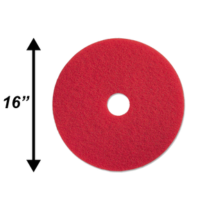 "PPC 16"" Red Buffing Pad EA"