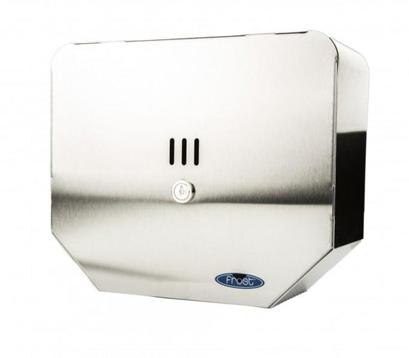 Frost JRT Toilet Paper Dispenser, Metallic - 166S