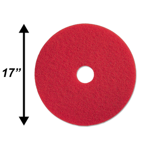 "PPC 17"" Red Buffing Pad EA"