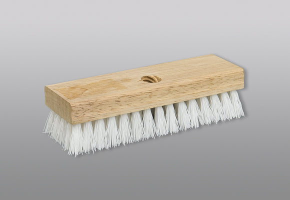 M2 Wood Carpet Brush W/White Fibre