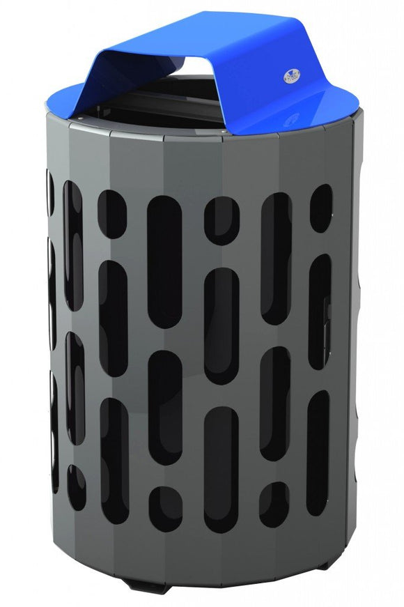 Frost® Stingray and Blue Waste Receptacle