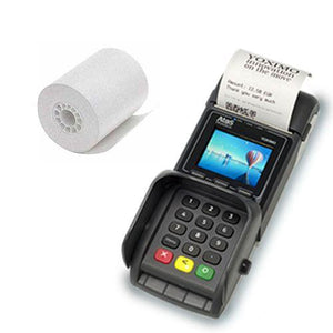 "Thermal Wireless Debit Machine Paper Roll  2 1/4"" x 1 1/2"" 50/CS"