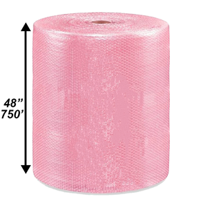 "3/16"" Anti-Static Bubble Roll, 48'' x 750'"