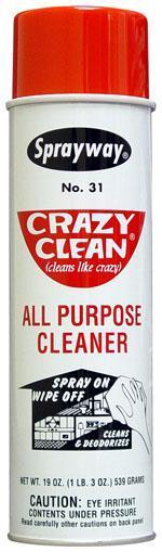 SW Crazy Clean All Purpose Cleaner Each