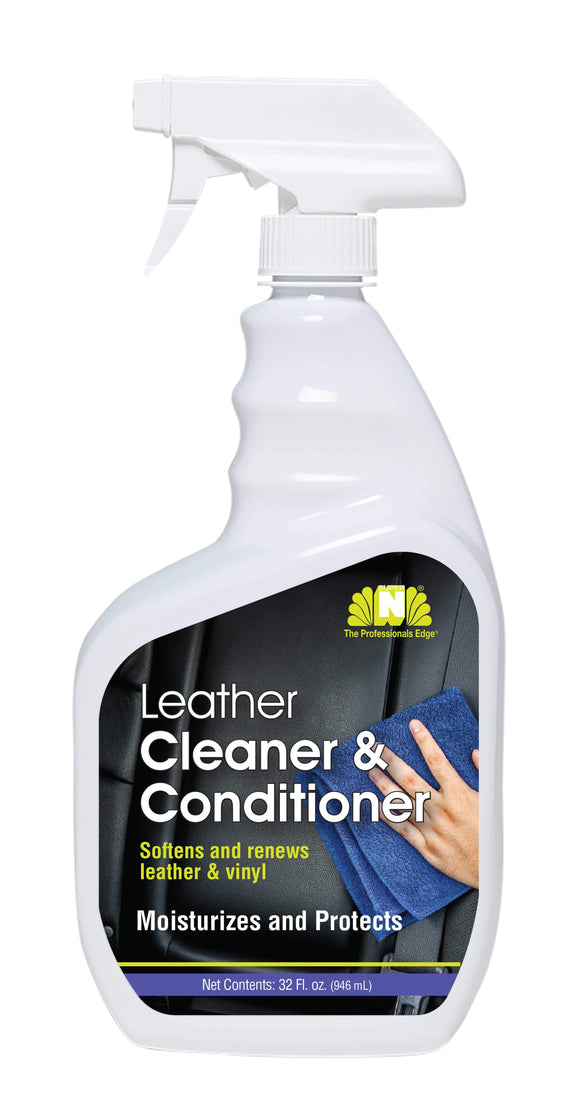 Nilodor Leather Cleaner & Conditioner 6x946mL