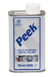Peek Metal Polish 250 mL Can