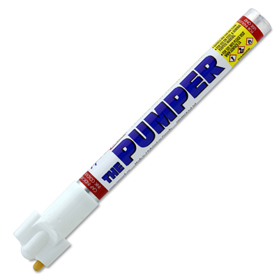 The Pumper® White Industrial Marker