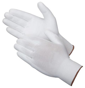 Nylon X-Large Knit Palm Coated Polyurethane Gloves 12/PKG