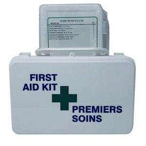 First Aid Kit Deluxe Plastic 6-15 Workers